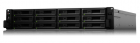 Система хранения данных Synology(Rack 2U)12C2, 1GhzCPU/ 16Gb(128)/ RAID0, 1, 10, 5, 6/ upto12HP HDDs SATA, SAS(3, 5' 2, .... (SA3600)