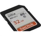 Карта памяти SanDisk Ultra 32GB SDHC Memory Card 90MB/ s, Class 10 UHS-I (SDSDUNR-032G-GN6IN)