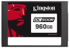 Твердотельный накопитель Kingston 960GB SSDNow DC500R (Read-Centric) SATA 3 2.5 (7mm height) 3D TLC (SEDC500R/ 960G)