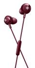 Наушники Philips Наушники Philips/ внутриканальные 9-23000Гц 1, 2м 3.5мм 107дБ, микрофон на проводе, красные (SHE4305RD/00)