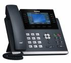 Проводной телефон sip YEALINK SIP-T46U, цветной экран, 2 порта USB, 16 аккаунтов, BLF, PoE, GigE, без БП, шт (SIP-T46U)