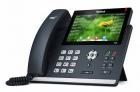 Проводной телефон sip YEALINK SIP-T48S, цветной сенсорный экран, 16 аккаунтов, BLF, PoE, GigE, без БП YEALSIP-T48S (SIP-T48S)