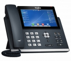 Проводной телефон sip YEALINK SIP-T48U, цветной сенсорный экран, 16 аккаунтов, BLF, PoE, GigE, без БП, шт (SIP-T48U)