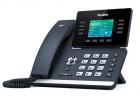 Проводной телефон sip YEALINK SIP-T52S, 12 аккаунтов, Bluetooth, USB, GigE, цветной экран, без БП, шт (SIP-T52S)