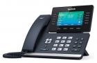 Проводной телефон sip YEALINK SIP-T54S, 16 аккаунтов, Bluetooth, USB, GigE, цветной экран, без БП, шт (SIP-T54S)
