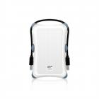 Внешний жесткий диск Portable Hard Disk Silicon Power Armor A30 1Tb, USB 3.2 , Shockproof, White (SP010TBPHDA30S3W)