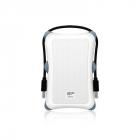 Внешний жесткий диск Portable Hard Disk Silicon Power Armor A30 2Tb, USB 3.2 , Shockproof, White (SP020TBPHDA30S3W)