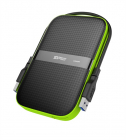 Внешний жесткий диск Portable Hard Disk Silicon Power Armor A60 3Tb, USB 3.1 , Shockproof, Anti-Scratch, Water-resistant .... (SP030TBPHDA60S3K)