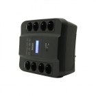 Источник бесперебойного питания Powercom Spider SPD-550U, Line-Interactive, LCD, AVR, 550VA/ 330W, Schuko, black (SPD-550U LCD)