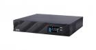 Источник бесперебойного питания Powercom SMART KING PRO+, Line-Interactive, 1000VA/ 800W, Rack/ Tower, IEC 8*C13, Serial .... (SPR-1000 LCD)