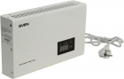 Стабилизатор SVEN SLIM-500 LCD, релейный, 400вт, 500Ва, 140-260в, функция «пауза», 1 евророзетка, 2.35 кг Stabilizer SVE .... (SV-012809)
