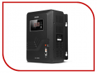 Стабилизатор SVEN VR-P 5000, релейный, 5000Ва, 3300вт, 140-275в, клеммы, черный, габариты 350 ? 285 ? 160мм, 9.51кг. Sta .... (SV-014957)