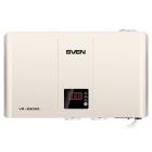Автоматический стабилизатор напряжения SVEN VR-S3000 (3000Вт, входное 140-275В, Выходное 230В, 3*CEE7/ 4 розетки , белый, .... (SV-016531)