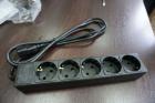 Удлинитель SVEN EX-I5 черный 1, 8 м (вх.вилка IEC-320 (C14), вых. розетки 5? СЕЕ 7/ 4) Extender SVEN EX-I5 black 1, 8 m (5 .... (SV-017385)