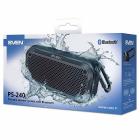 SVEN PS-240, черный, акустическая система (2.0, мощность 2x6 Вт (RMS), Waterproof (IPx7), TWS, Bluetooth, microSD, караб .... (SV-018481)