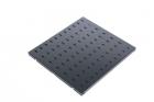 Полка перфорированная, глубина 450 мм, цвет черный (СВ-45-9005)