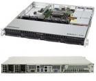 Серверная платформа Supermicro SuperServer 1U 5019P-MR noCPU(1)Scalable/ TDP 70-165W/ no DIMM(6)/ SATARAID HDD(4)LFF/ 2xG .... (SYS-5019P-MR)