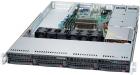 Серверная платформа Supermicro SuperServer 1U 5019S-WR no CPU(1) E3-1200v5/6thGenCorei3/ no memory(4)/ …