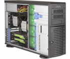 Серверная платформа Supermicro SuperWorkstation 4U 7049A-T noCPU(2)Scalable/ TDP 70-205W/ no DIMM(16)/ SATARAID HDD(8)LFF .... (SYS-7049A-T)