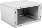 Шкаф телекоммуникационный настенный разборный 6U (600 520) дверь металл (ШРН-Э-6.500.1)