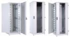 Шкаф телекоммуникационный напольный 38U (600x800) дверь стекло, цвет чёрный (ШТК-М-38.6.8-1ААА-9005)