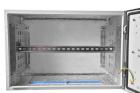 Шкаф уличный всепогодный настенный 6U (600х500), передняя дверь вентилируемая (ШТВ-Н-6.6.5-4ААА)