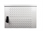 Шкаф уличный всепогодный настенный 9U (600х500), передняя дверь вентилируемая (ШТВ-Н-9.6.5-4ААА)
