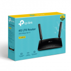 Роутер 300Mbps 4G LTE Router, 2 internal Wi-Fi antennas, 2 detachable LTE antennas (TL-MR150)