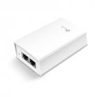 PoE адаптер 48V Passive POE adapter, maximum 24W power supply, 2 Giga Ethernet port (TL-POE4824G)