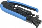 Инструмент обжим коннекторов F-типа на кабель коаксиал. (TM2-G10F)