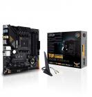 Материнская плата ASUS TUF GAMING B550M-PLUS, Socket AM4, B550, 4*DDR4, HDMI+DP, CrossFireX, SATA3 + RAID, Audio, 2, 5Gb .... (TUF GAMING B550M-PLUS)