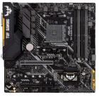 Материнская плата ASUS TUF B450M-PLUS GAMING, Socket AM4, B450, 4*DDR4, DVI+HDMI, CrossFireX, SATA3 + RAID, Audio, Gb LA .... (TUF B450M-PLUS GAMING)
