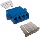 Адаптер оптический LC, SM, 4 порта, корпус SC (TWT-4LC/S-AM-SM)