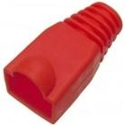 Защитные колпачки для кабеля 6, 0мм cat.5, на соединение коннектора с кабелем, красный, 100 шт. в пчк (TWT-BO-6.0-RD/ 100)