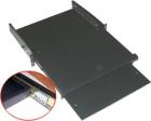 Полка для клавиатуры и мыши выдвижная фронтальная, 2U, нагрузка - 20 кг (TWT-CBB-SKM-2U/ 20) (TWT-CBB-SKM-2U/ 20)