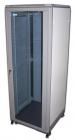 """Шкаф 19"""" Eco, 31U 600x800, серый, дверь стекло (TWT-CBE-31U-6X8)"""