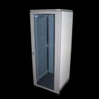 """Шкаф 19"""" Eco, 36U 600x800, серый, дверь стекло (TWT-CBE-36U-6X8)"""