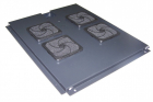 Блок 4-х вентиляторов в крышу шкафа Eco глубиной 800 мм (TWT-CBE-FAN4-8)