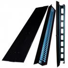 Боковые органайзеры распределительной рамы с боковой панелью, 42U, 150 мм, 2 шт., черные (TWT-CBF-SDO-42U)
