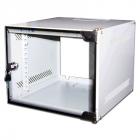 """Шкаф настенный 10"""" Lite, 12U 300x310, стеклянная дверь (TWT-CBW10-12U-3X3)"""