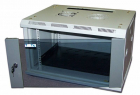Шкаф настенный 2, 18U 600x450, стеклянная дверь (TWT-CBW2-18U-6X4)