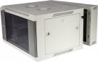 Шкаф настенный серии Pro, 3-секционный, 15U 600x600, стеклянная дверь (TWT-CBW3G-15U-6X6-GY)