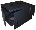 Шкаф настенный Next, 12U 550x600, металлическая дверь, черный (TWT-CBWNM-12U-6X6-BK) (TWT-CBWNM-12U-6X6-BK)