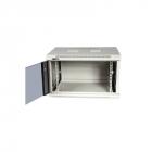 Шкаф настенный Next, 9U 550x450, металлическая дверь, черный (TWT-CBWNM-9U-6X4-BK)