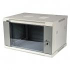 Шкаф настенный серии Pro, 12U 600x450, стеклянная дверь (TWT-CBWPG-12U-6X4-GY)