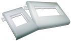 Пластиковый суппорт 45Х90, безвинтовой на защелках, в короб 100 мм (TWT-CT100-FLM45X90)