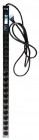 Вертикальный блок розеток, 12xSchuko + 8xC13, 250V, 16A, шнур 3 метра, вилка Schuko (TWT-PDV-12GS-8C3-GP)