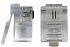 Коннектор RJ12 д/ кабеля 2-ух контактный, 100 шт. (TWT-PL12-6P2C/ 100)