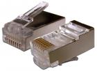 Коннектор RJ45 STP 8P8C, универсальный, для толстого кабеля, cat.6, 100 шт. (TWT-PL45/ S-8P8C-6T) (TWT-PL45/ S-8P8C-6T)