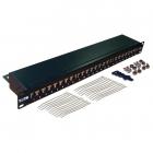 Патч-панель TWT 24 порта, STP, кат.6, 1U (TWT-PP24STP/ 6)